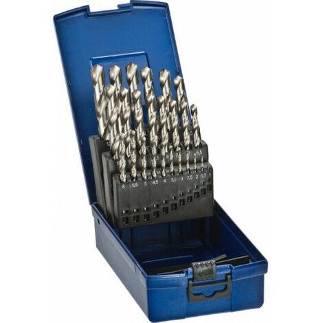 Set brocas para metal HSS 1-13 mm KWB