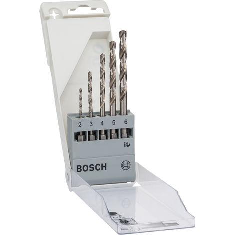 Set brocas Uneo HSS-G HEX.338 2-3-4-5-6 Bosch