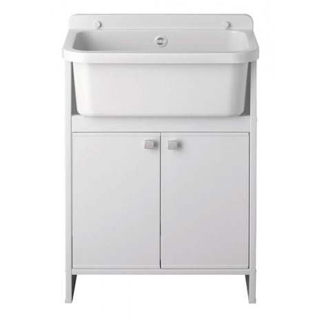 Set cabinet with sink utility chamber 55 cm u