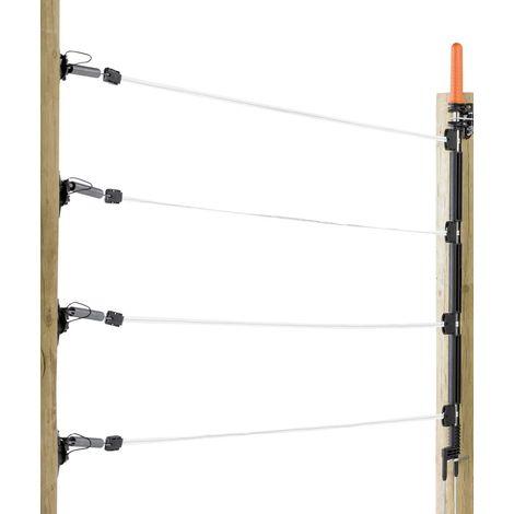 Set cancello elettrico professionale Gallagher formato da nastri/fettucce Gallagher