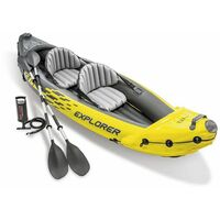 Set canoë 2 places Intex Explorer