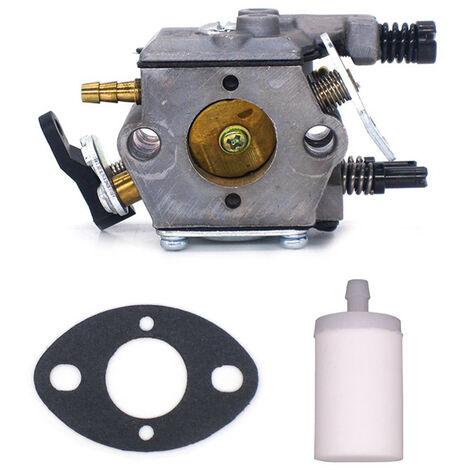 """main image of """"Set carburatore meccanico da giardino compatibile per motoseghe 51 55 CARB 503281504 Walbro WT-170-1"""""""