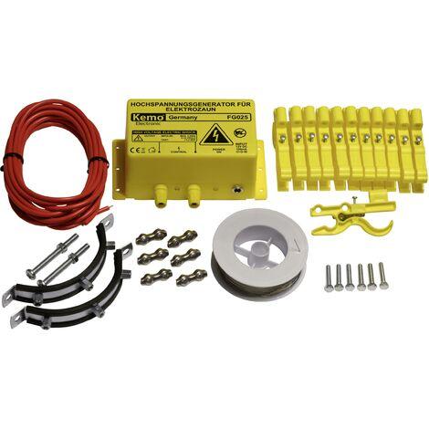Set clôture électrique ou électrificateur de clôture anti-martes et anti-ratons laveurs A966331