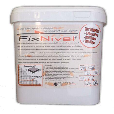 """main image of """"Set Complet croisillon autonivelant FIXNIVEL / 100 pcs"""""""