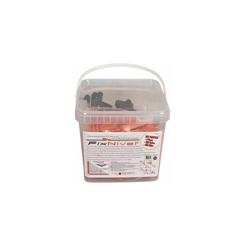 Set Complet Croisillon Autonivelant Fixnivel 1mm 100 Pcs Rset 100 1