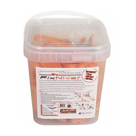 Set Complet croisillon autonivelant FIXNIVEL / 250 pcs