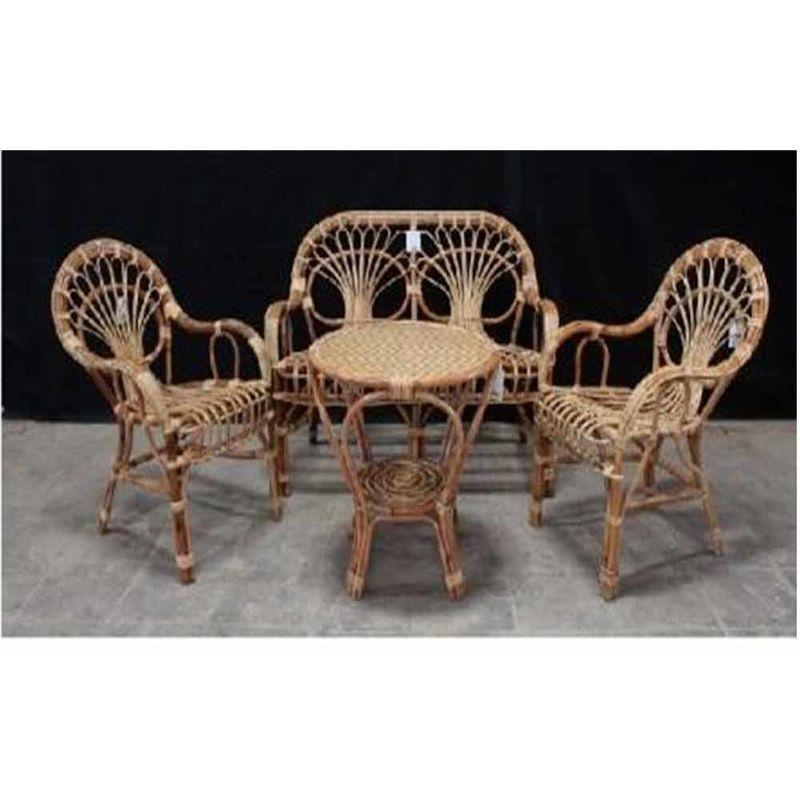 Salotto in rattan,vimini ,bambù completo sofa,poltrona,tavolino, big sole - OKAFFAREFATTO
