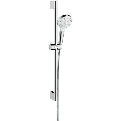 Set Crometta Vario EcoSmart / Unica'Croma 0,65 m blanc/chromé