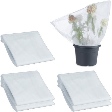 80/g//m/² 155/cm x 150/cm HaGa/® telo protettivo in tessuto non tessuto protezione antigelo per l/'inverno