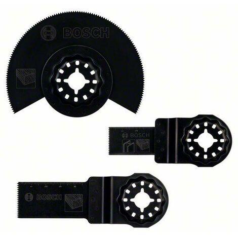Set d'accessoires pour outils multifonctions, 3 pcs Bosch Accessories 2607017323 Q065791