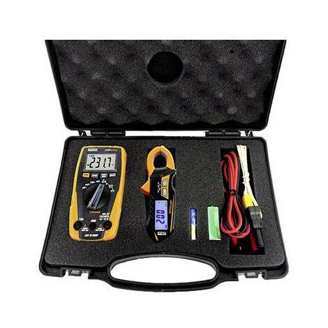 Set d'appareils de mesure dans un coffret e-KIT W090101