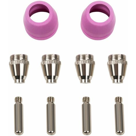 Set De 10 Pcs Consommables S-Cut-70 Pour Découpeur Plasma S-Cutter 70 Céramique