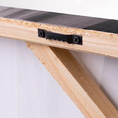 Set de 2 cuadros mandala de lienzo de 40x80 cm