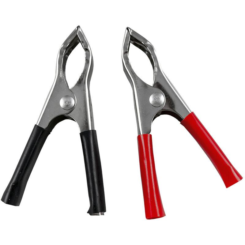 JBM - Set de 2 pinces crocodiles