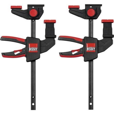 SET de 2 pinces de table à une main EZR15-6 Bessey EZR15-6SET Envergure max.:150 mm Mesures dempattement:60 mm