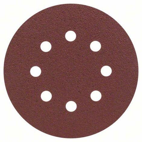 Set de 25 Feuilles Abrasives 125 mm - grain 80 ou 180