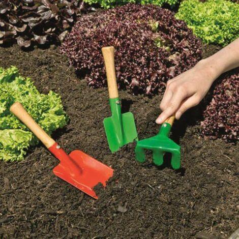 Set de 3 outils de jardin pour enfant