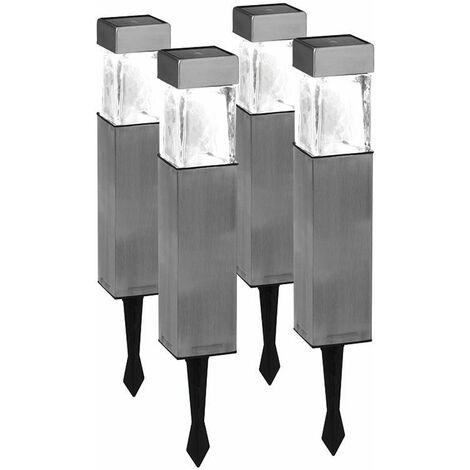 Set de 4 estacas solares Duracell