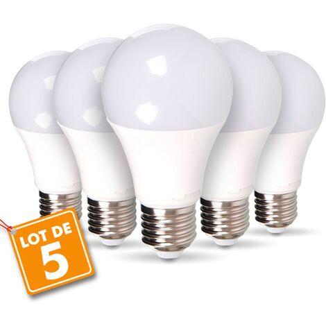 Set de 5 bombillas LED E27 14W Eq 100W Blanco cálido