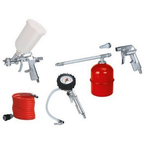EINHELL 4132720 - Kit de aire comprimido 5 piezas