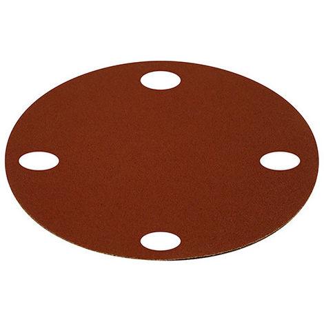 set de 6 disques abrasifs Ø 180 mm - grain 120 OU 180