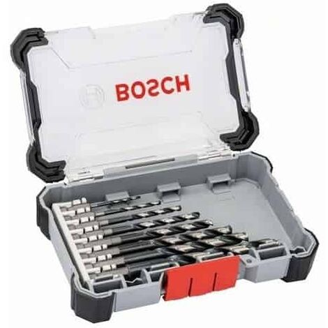 Set de 8 forets BOSCH HSS Impact Control - Spécial métal - 2608577146