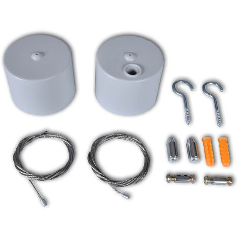 Set de accesorios para cables de luz (T8)