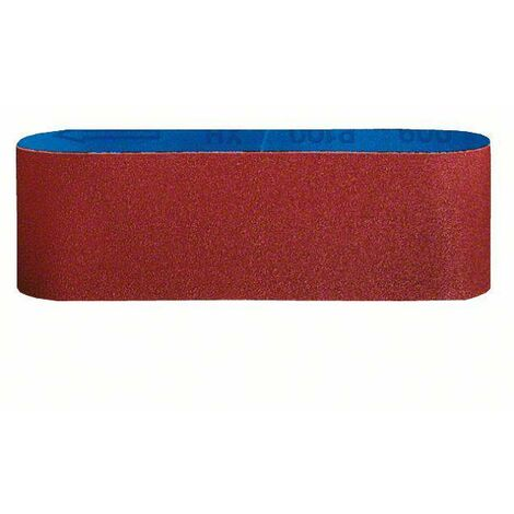 Set de bandes abrasives Bosch Accessories 2608606078 Grain 60, 80, 100 (L x l) 533 mm x 75 mm 3 pc(s) C97968