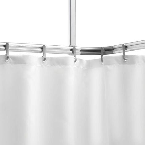 Set de barra de aluminio para la cortina de ducha, Sealskin, 276623005
