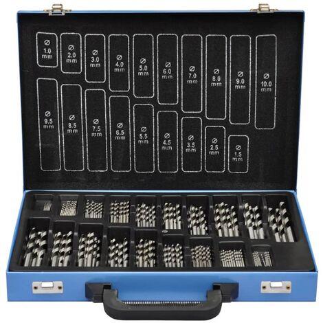 Set De Brocas En Caja Metal (170 Piezas) HSS EC