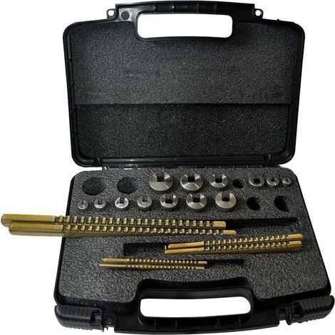 Set de broches HSS Taille 2-8mm 20 pièces IBT