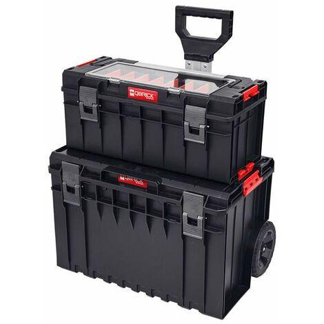 Set de cajas Qbrick System PRO 600 EXPERT + ONE CART