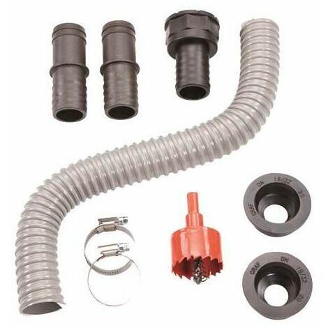 Set de conectores para unión de depósitos Flex-Comfort 1 1/4 marrón