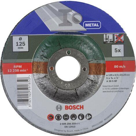 Set de disques à tronçonner, à moyeu déporté, pour métal 5 pcs Q067791