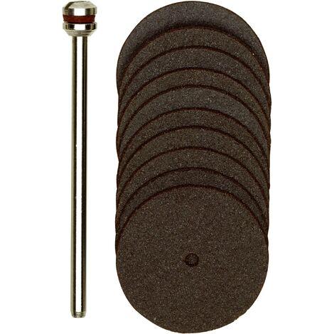 Set de disques à tronçonner en corindon, 11 pces C79543