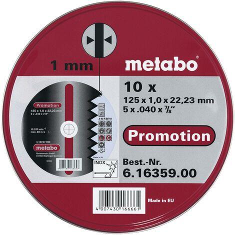 Set de disques à tronçonner en inox W88492