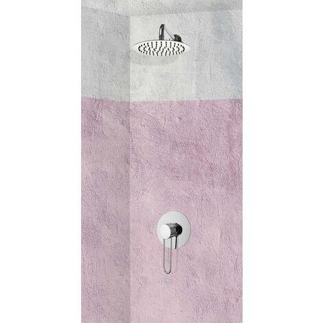 Set de douche encastrable complet mural mécanique avec tuyauterie MAREA