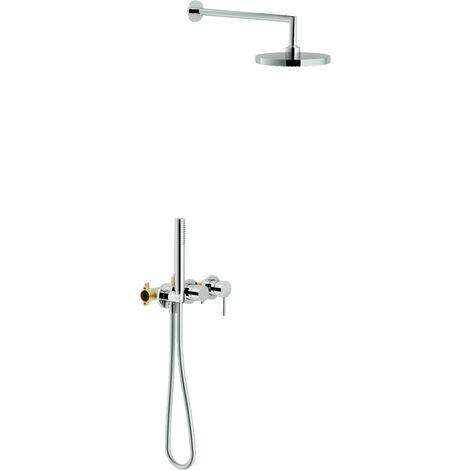 Set de douche encastré Nobili plus WESK100/91TCR | Chromé