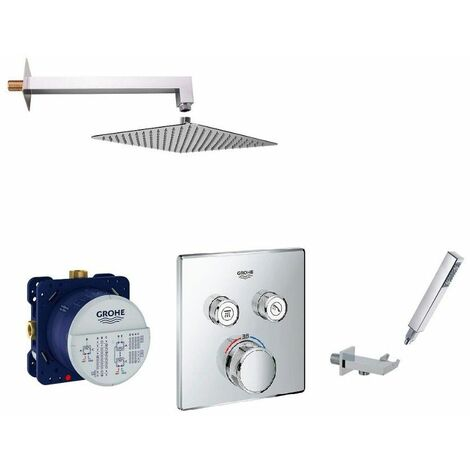 Set de douche encastrée SmartControl Thermostatique