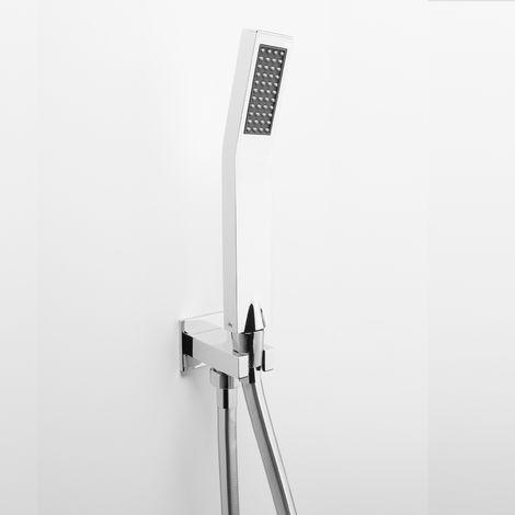 Set de douche mural Ares avec douchette modèle « JOY » (code 74206)