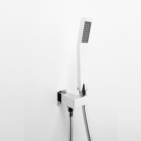 Set de douche mural Ares avec douchette modèle « JOY » (code 74406)