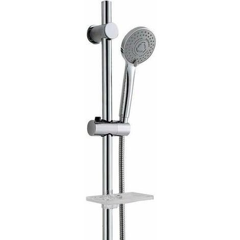 """main image of """"Set de ducha, barra en latón + alcachofa ABS – Kana"""""""