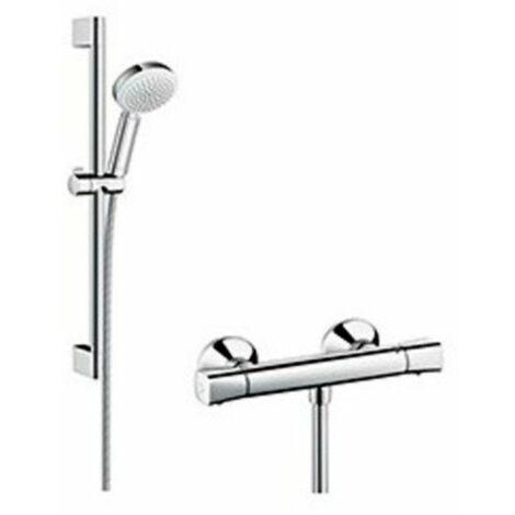 Set de ducha termostática CROMETTA 100 VARIO Ecostat Universal 27030400 de Hansgrohe