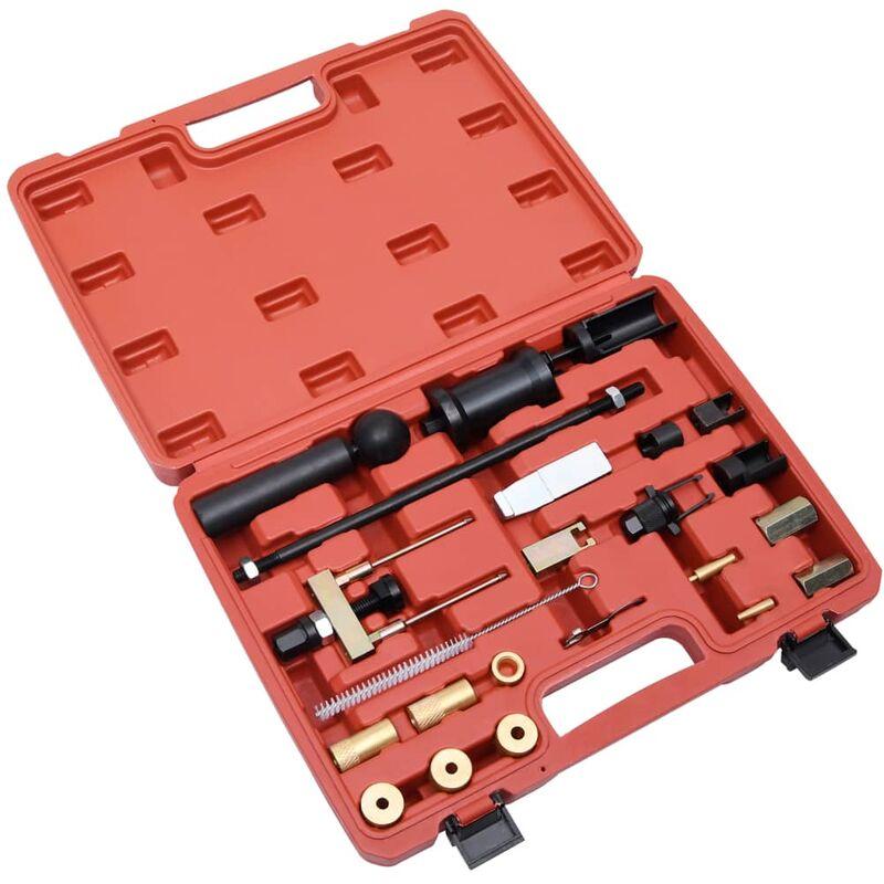 Set de extractores de inyectores gasolina diésel 23 piezas - Vidaxl