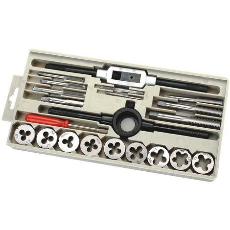 Set de forets d'alésage métriques, 21 pièces C.K. T4032 métrique M3, M4, M5, M6, M8, M10, M12 21 pièces C56464