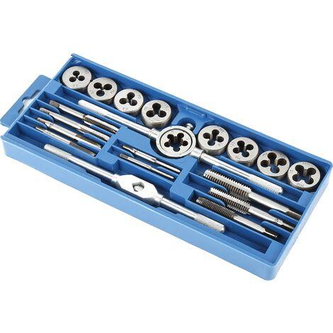 Set de herramienta 20 piezas Juego de machos y terrajas