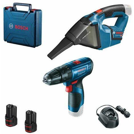 """main image of """"Set de herramientas a batería 12V Bosch 0615990M45"""""""