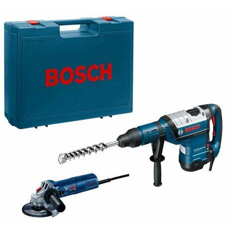 Set de herramientas Bosch GBH 8-45 DV + GWS 9-125