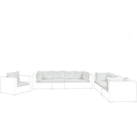 Set de housses de coussins blanc cassé pour salon de jardin MAESTRO II