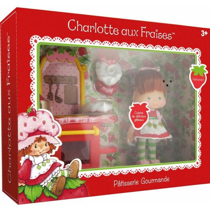 Set de Jeu Charlotte aux Fraises - Pâtisserie Gourmande - dès 3 ans - Livraison gratuite